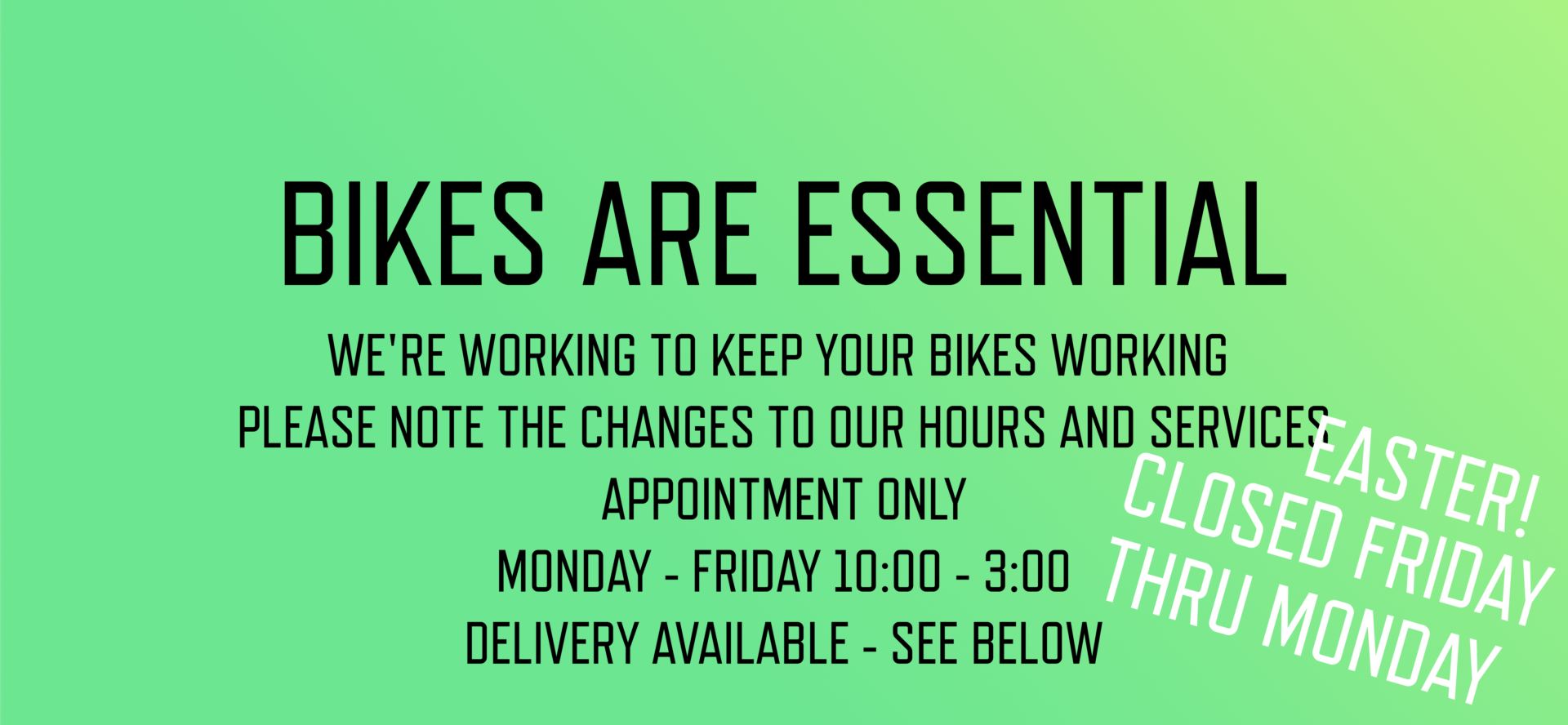 Full Service Bike Shop in Downtown Powell River
